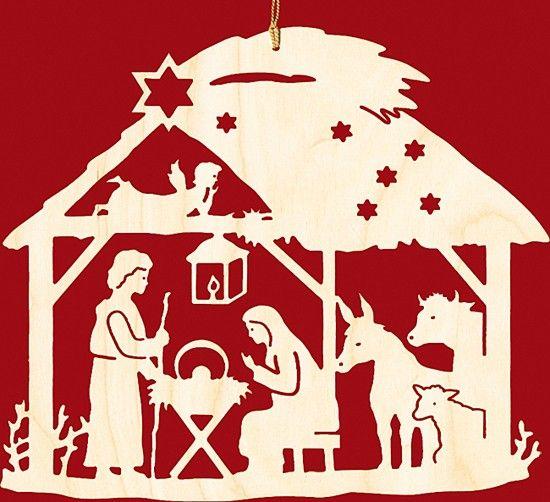 Taulin Fensterbild Weihnachten Christgeburt im Haus