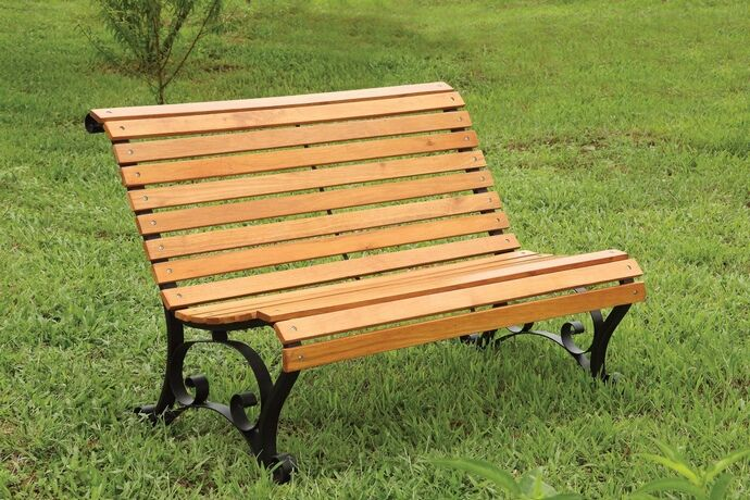 Outdoor Benches Wood Sedona Collection Metal Structure