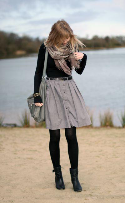 Gray and black. The basics will do.