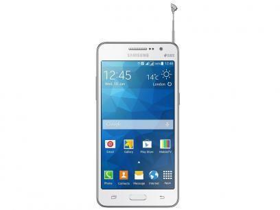 Smartphone Samsung Galaxy Gran Prime Duos 8GB - Branco Dual Chip 3G Câm. 8MP Desbl. TIM com as melhores condições você encontra no Magazine Luizadoeduardo. Confira!
