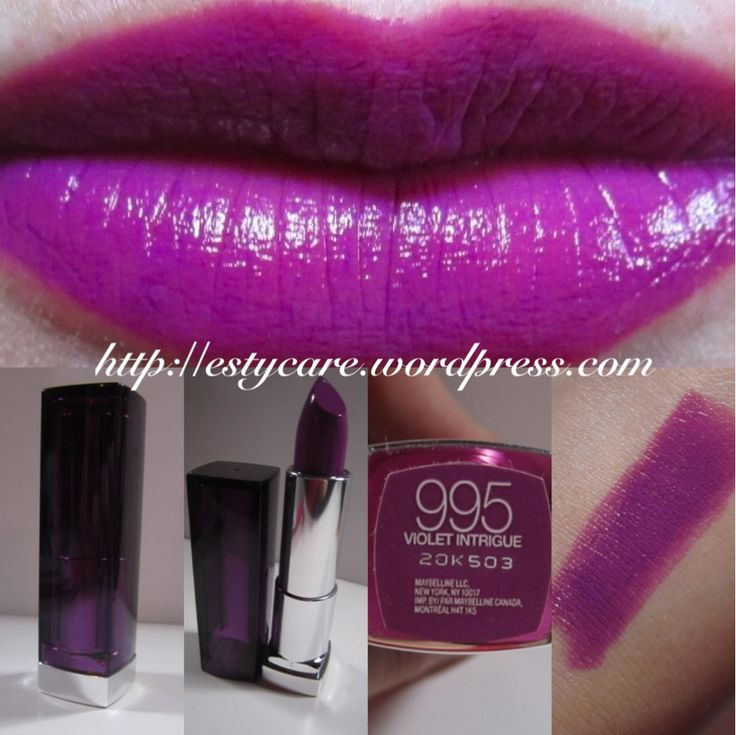 maybelline 39 s color sensational in violet intrigue fall 2013 limited edition makeup. Black Bedroom Furniture Sets. Home Design Ideas