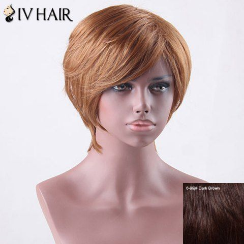 GET $50 NOW | Join RoseGal: Get YOUR $50 NOW!http://www.rosegal.com/human-hair-wigs/short-side-bang-straight-siv-827141.html?seid=4695937rg827141
