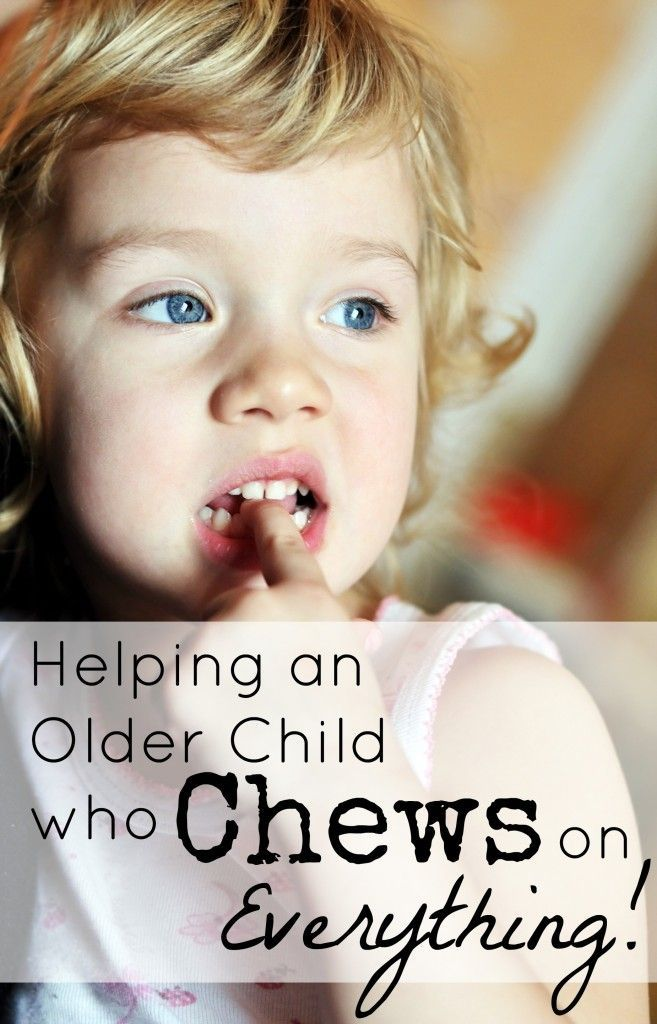 When they're babies, you get it, but how do you help an older child who chews on everything??? Find out some great strategies for oral sensory input! SPD ASD