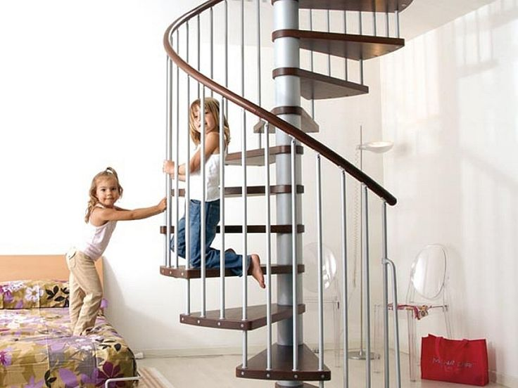 Staircase : Safe For Your Kits Spiral Staircase Kit Design Spiral Staircase Kits for Connecting Floors Wood Spiral Staircase Kits. Inexpensive Spiral Staircase Kits. Outdoor Spiral Staircase Kits.