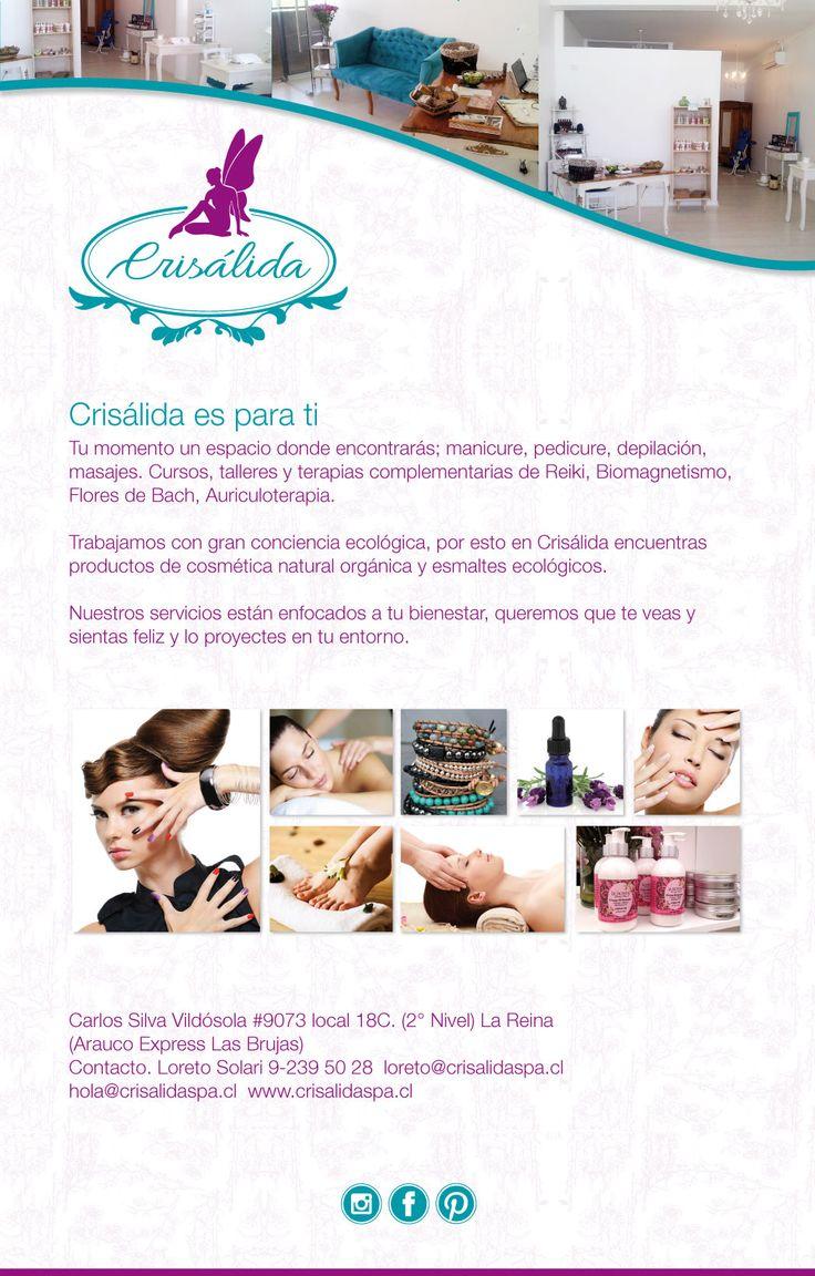 Mailing. Cliente:Crisalida. Diseñado por Kata Melgarejo Bahamondes