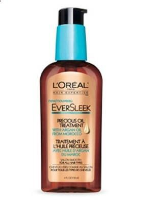 loreal eversleek argan oil treatment- 12.99 drugstores. Dry air means dry hair. This is an affordable overnight hair treatment to help those brittle strands of hair!!