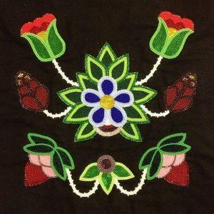 Ojibwe Floral Art   Anishinaabe Art, Cultural Fest features art of the Ojibwe - Sawyer ...