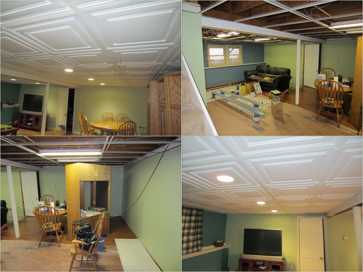 Elegant How to Install Drop Ceiling In Basement