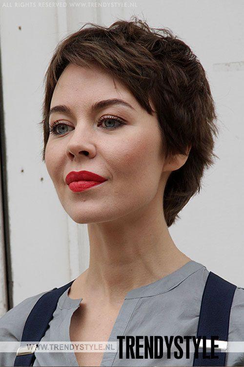 Korte kapsels en haarsnitten. De haarcoupes van Saskia de Brauw, Coco Rocha en Lakhsmi Menon - Trendystyle, de trendy vrouwensite
