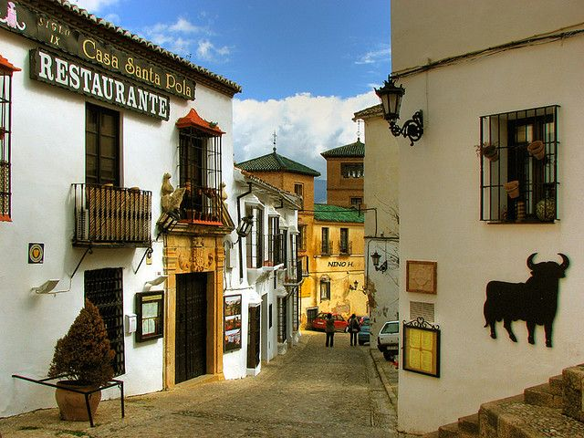 Ronda, Andalusia, Spain- ever since seen it in the movie ZNMD feel like being there...
