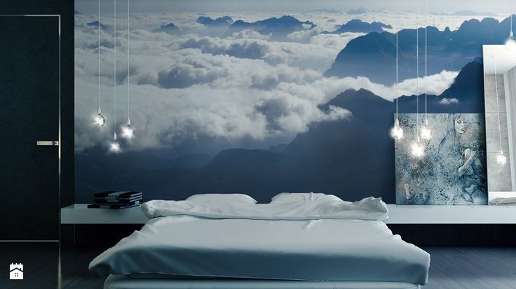 Niebiańska tapeta zapewni nam spokojne sny.