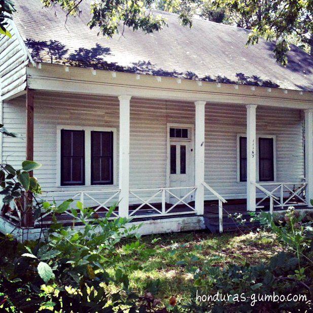 Creole Cottage In Clinton, Louisiana