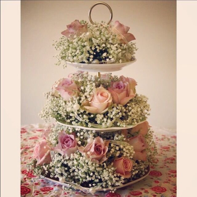 Cake Stand Wedding Centerpieces Easy Craft Ideas