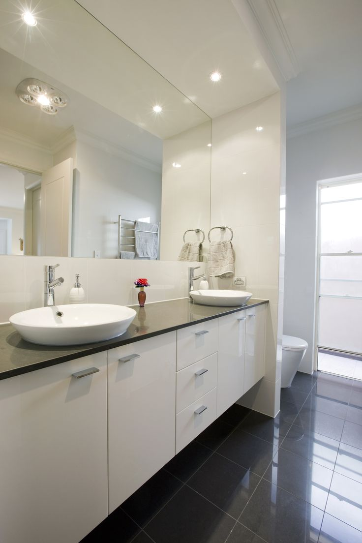 #bathroominspiration #bathroomdesign #homedesign #homeinspiration #clairvillehomes #adelaide #australia #builder #customhome #contemporary #modern #interiordesign #blackandwhite #modern #contemporary #caroma #caesarstone #featurevanity #featurebasin #homeinspiration
