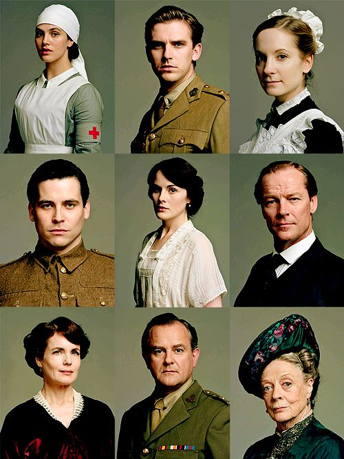 Downton Abbey at WWI