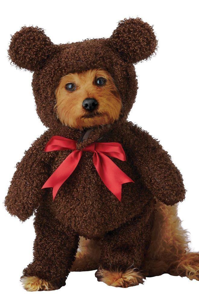 California Costumes Teddy Bear Dog Costume Pet 20162 Californiacostumecollections Pet Costumes Teddy Bear Stuffed Animal Bear Stuffed Animal