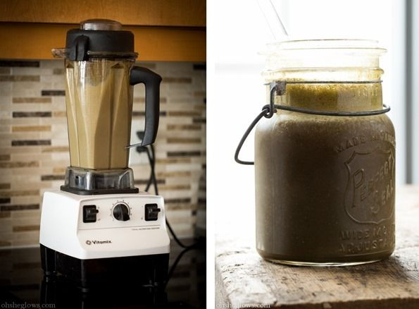 icedmochasmoothie   It's Not You, It's Me + Iced Mocha Green Monster Smoothie