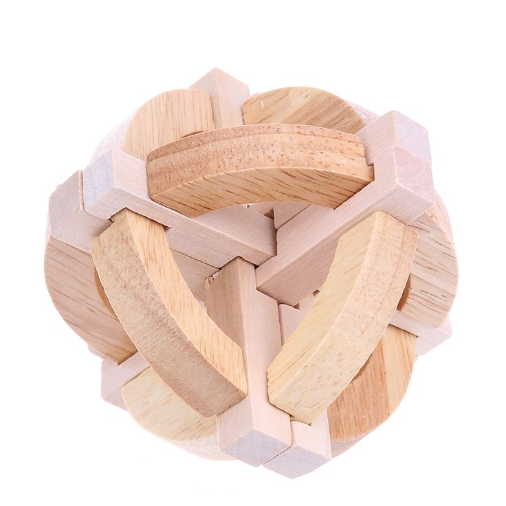 Kongming Lock Wooden 3D Puzzle // Price: $9.95 & FREE Shipping Worldwide //  We accept PayPal and Credit Cards.    #gameronboard #boardgame #cardgame #game #puzzle #maze #toys #chess #dice #kendama #playingcards #tilegames