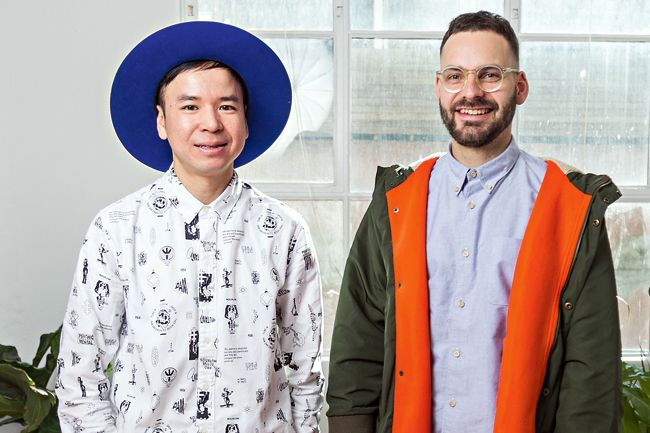 Acclaimed design duo Tin & Ed on CCP, Curtin House and creativity in Melbourne - See more at: http://www.theweeklyreview.com.au/live/design-duo-tin-ed-on-curtin-house-and-creativity/pub/city/#sthash.AEoboFZF.dpuf