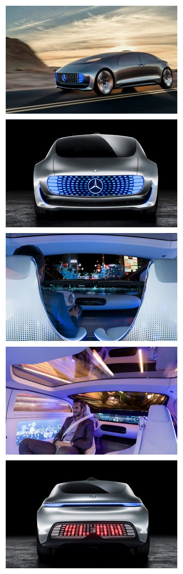 WOW! 10 of the Coolest New Car Tech & Gadget Trends. Some of these will blow your mind! Especially this Mercedes F015... d'autres gadgets ici : http://amzn.to/2kWxdPn