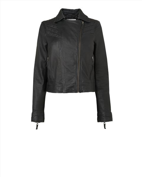 Quilted Leather Jacket  #winsupergawithritaora