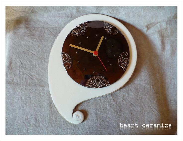 ceas de perete de beakeramia Breslo