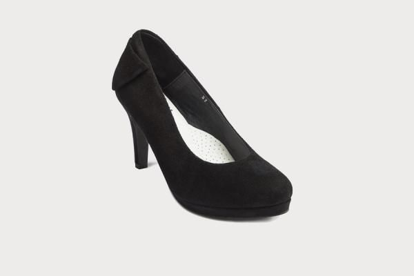Comfortable Suede High Heel Dress Shoes For Women With Bunions And