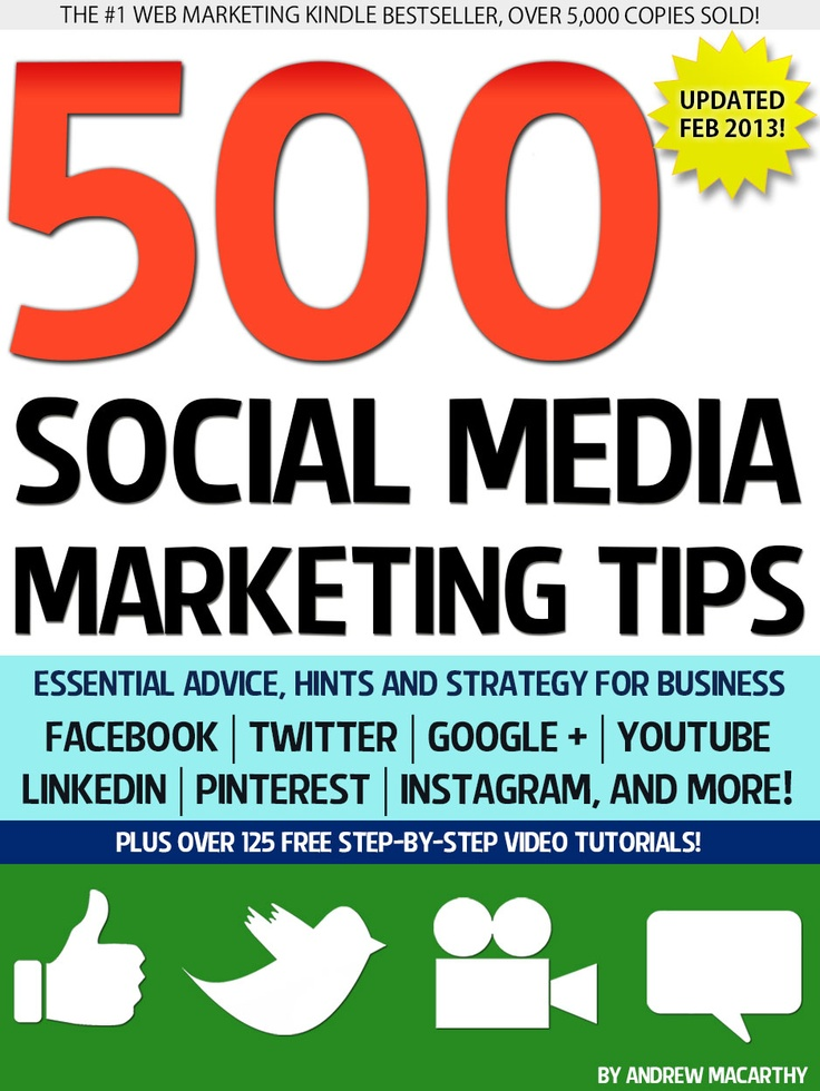 44 best my book images on pinterest social media marketing social the free february 2013 update of 500 social media marketing tips is now available this months update is a big one with lots of new tips and tidying up in fandeluxe Image collections