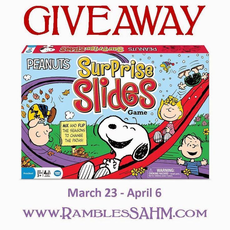 Peanuts Surprise Slides Giveaway