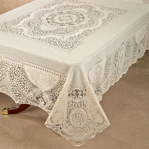 Canterbury Classic Lace Oblong Tablecloth
