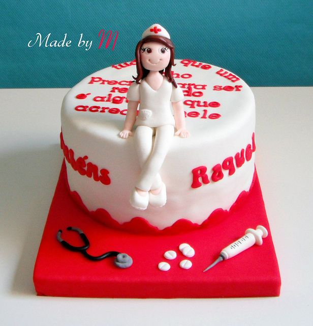 116 best Cakes Medical images on Pinterest Nurse cakes Conch
