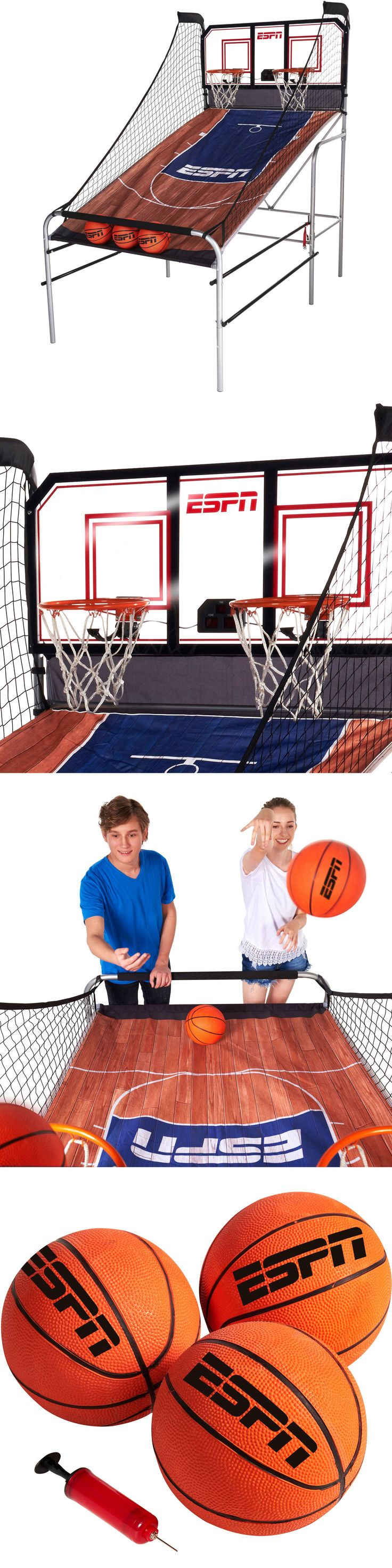 Other Indoor Games 36278: Espn Basketball Game Indoor Electronic Arcade Sports Kids 2 Player Heavy Duty BUY IT NOW ONLY: $145.21