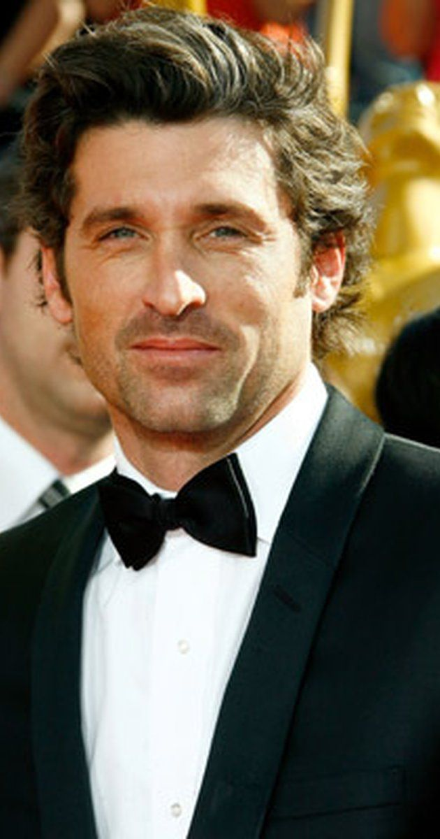 Patrick Dempsey, Actor: Grey's Anatomy. Patrick Dempsey has lived two charming but separate lives on film and television. From an exuberant, somewhat awkward charmer in college comedy films of the late 1980s and early 1990s, he has morphed spectacularly into a dreamy, wavy-haired television hunk of the new-age millennium and this seductive new image has since spilled off into romantic lead roles back on the large screen as a slightly ...