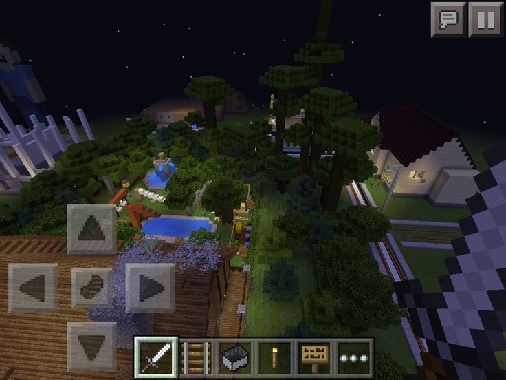 My world in minecraft