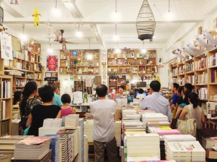 Book shops in Singapore: 15 stores and cafes bookworms will love