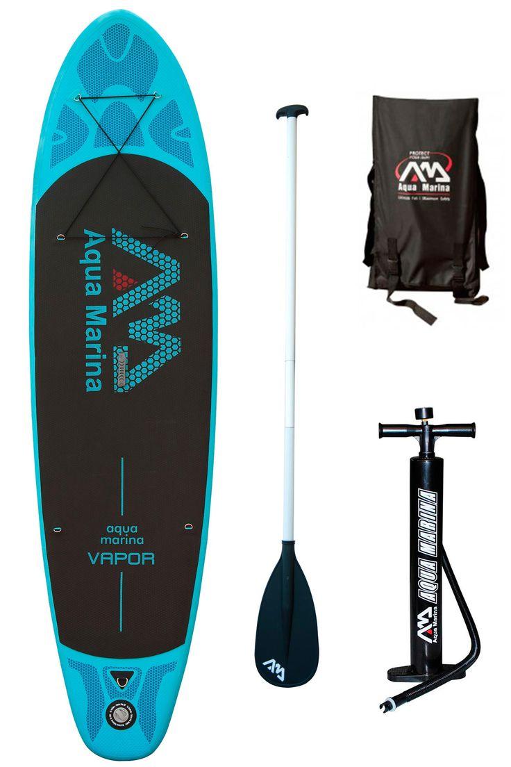 Aqua Marina Vapor iSUP + Paddle
