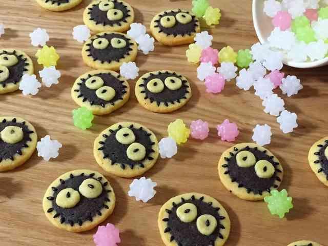 ススワタリ達☆アイスボックスクッキーの画像