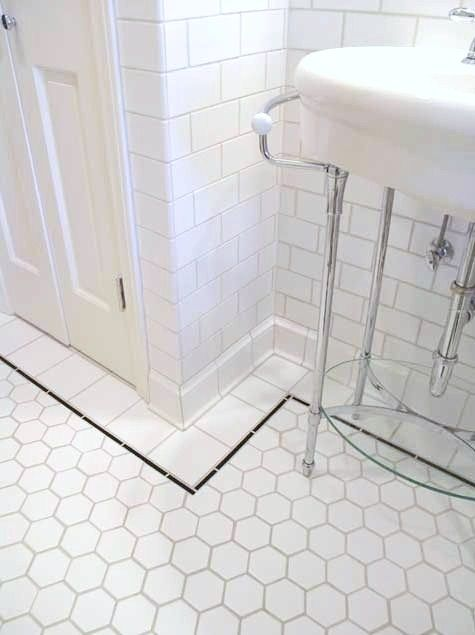 Retro Vintage MOSAIC Hex Tiles, these will always be a lovely classic in my opinion