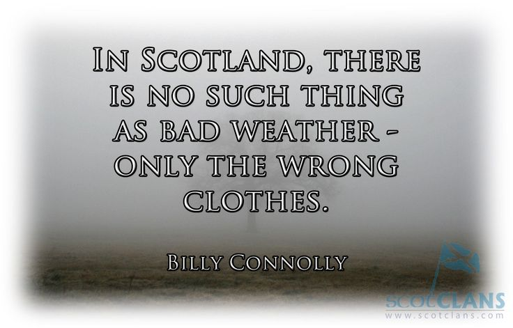 Billy Connolly - Scottish Weather