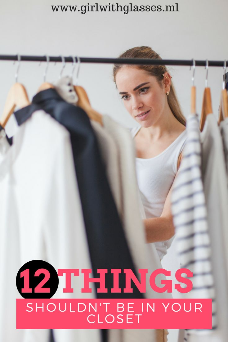 Do you know the situation when your wardrobe is full with things you don't need, read this post about it #fashion #closet