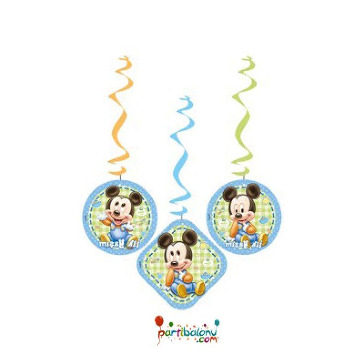 Baby Mickey Mouse Asma Süs
