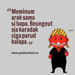 Gambar Pantun Lucu Bahasa Sunda Terbaru
