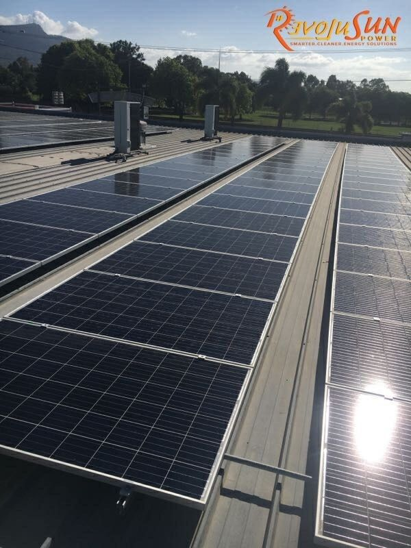 Recent 30kW commercial #Solar installation at Friendly Grocer, Oonoonba.  Business: Friendly Grocer Oonoonba  Industry: Grocery & Convenience store Solar power system-capacity: 30 kW Energy output per year: 54,750 kW CO2 Equivalent reduction: 160 Trees  CO2-e Abatement per year: Over 40 tonnes #GoSolar #RevoluSunPower
