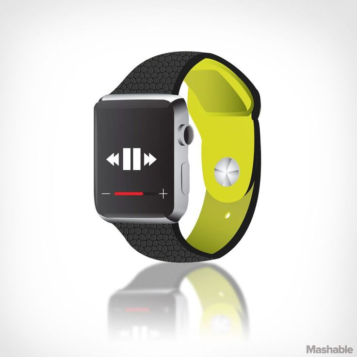 Since one of the Apple Watch's main functions is fitness tracking, how great would it be to have a reversible band? Apple created a custom, high-performance fluoroelastomer band for sporty folks, but what if you also need to wear the watch on fancy occasions? A reversible band with leather on one side, fluoroelastomer on the other would be incredibly versatile.