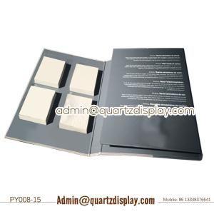 PY008-15 Stone Sample Binder , Natural Stone Tile Folder