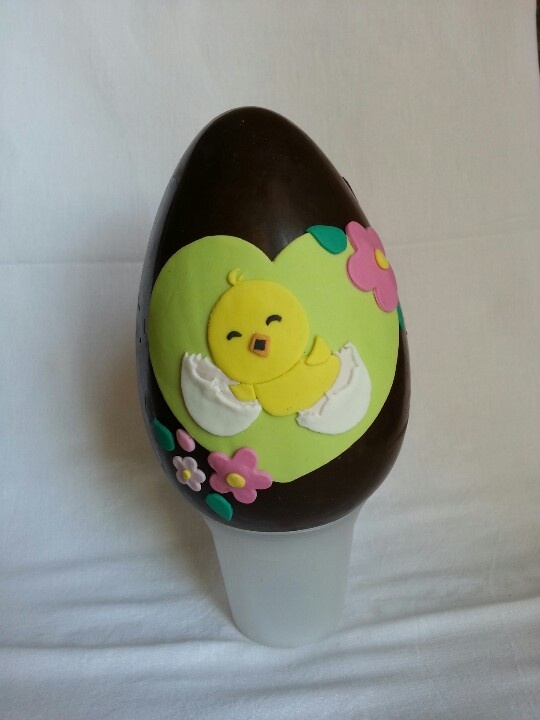 easter egg - happy chicken