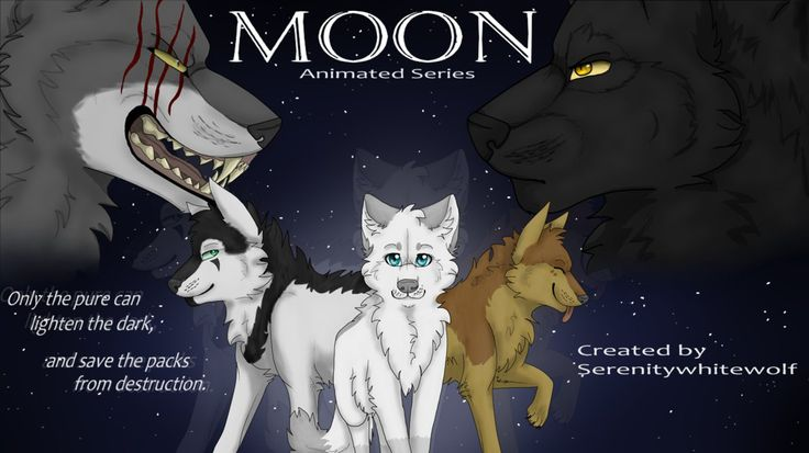MOON Poster by serenitywhitewolf