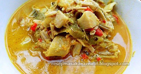Resep Sayur Jantung Pisang Kuah Gurih Tanpa Santan Resep Masakan Sehat Resep Masakan Indonesia Resep