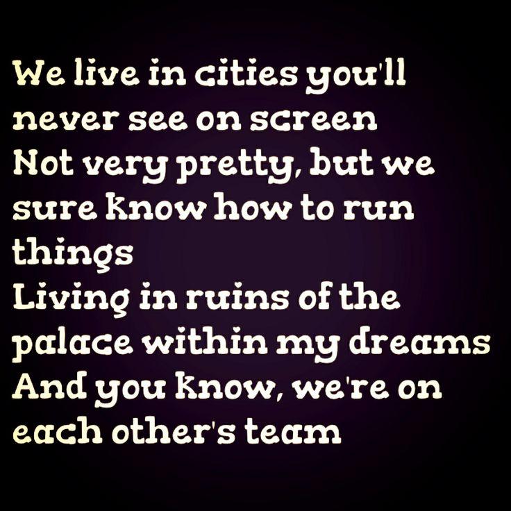 Lorde -- Team lyrics