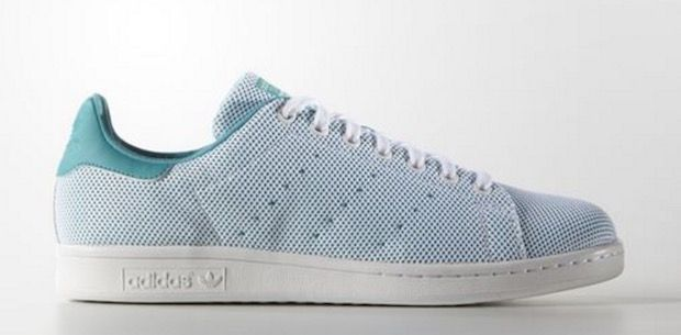 stan smith colorees maille verte